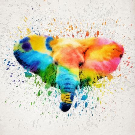 http://fineartamerica.com/featured/elephant-splash-aged-pixel.html